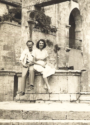 Harold and Rose San Giminiano 1946 400
